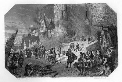 Menno Van Coehoorn, Dutch Soldier and Military Engineer, at the Siege of Namur, 1692-W Steelink-Giclee Print