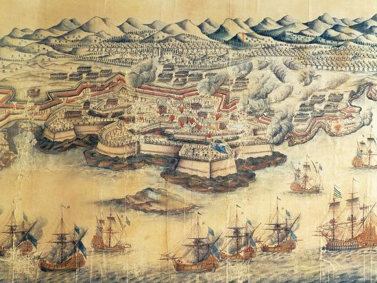 Menorca Occupied by the British During the Seven Years' War--Giclee Print