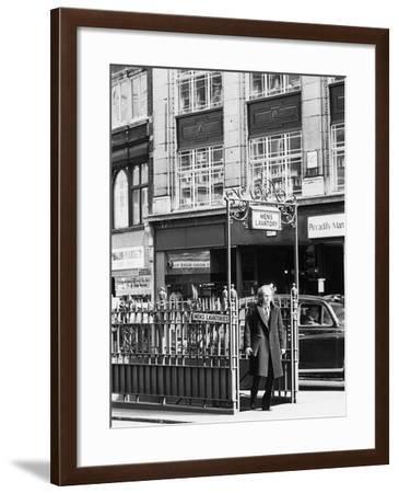 Mens Lavatory--Framed Photographic Print
