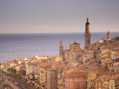 Menton, Alpes Maritimes, Provence, Cote d'Azur, French Riviera, France, Mediterranean-Angelo Cavalli-Photographic Print