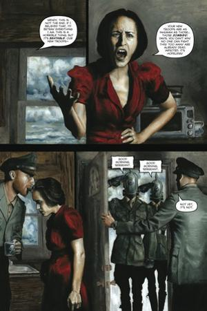 Zombies vs. Robots - Comic Page with Panels by Menton Matthews III