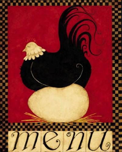 Menu II-Dan Dipaolo-Art Print