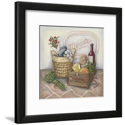 Mercato I-Megan Meagher-Framed Art Print