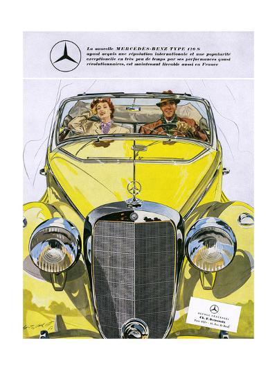 Mercedes Benz 170 S--Giclee Print