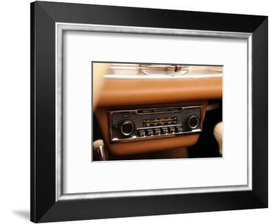 Mercedes Benz 300 SL roadster 1958-Simon Clay-Framed Photographic Print