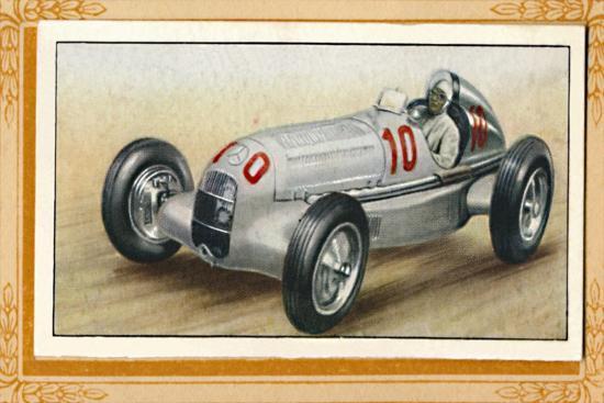 'Mercédès-Benz', c1936-Unknown-Giclee Print