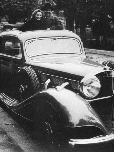 Mercedes-Benz Car, C1930S--Giclee Print