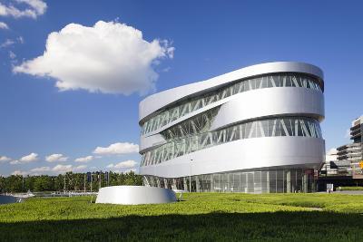 Mercedes Benz Museum, Stuttgart, Baden Wurttemberg, Germany, Europe-Markus Lange-Photographic Print