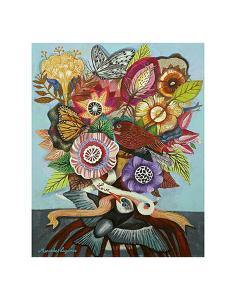 Flowers n. 14 by Mercedes Lagunas