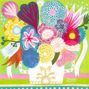 Flowers n. 15 by Mercedes Lagunas