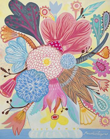 Flowers n. 1 by Mercedes Lagunas