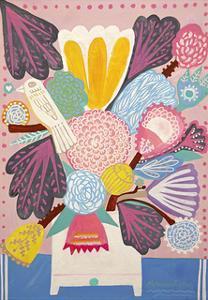 Flowers n. 2 by Mercedes Lagunas