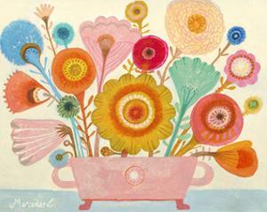 Flowers n. 4 by Mercedes Lagunas