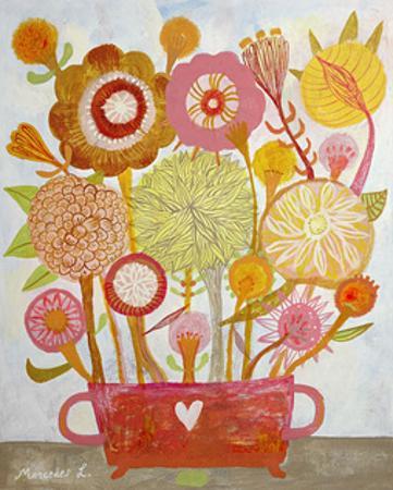 Flowers n. 6 by Mercedes Lagunas
