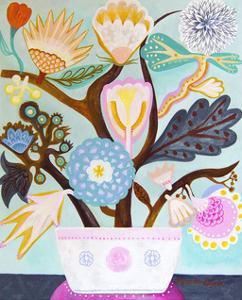 Flowers n. 9 by Mercedes Lagunas