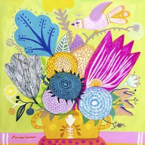 Flowers of June by Mercedes Lagunas