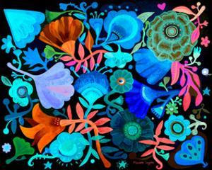 Night Garden by Mercedes Lagunas