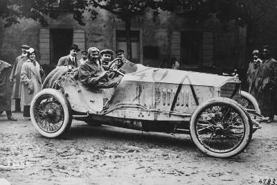 Mercedes Which Came Third in the 1914 French Grand Prix--Photographic Print