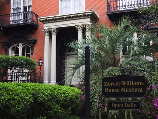 Mercer Williams House Museum, Savannah, Georgia, USA-Joanne Wells-Photographic Print