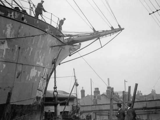 Merchant Ship--Photographic Print