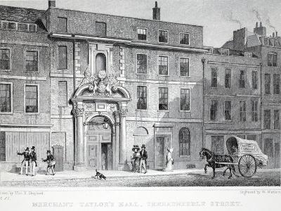 Merchant Taylor's Hall-Thomas Hosmer Shepherd-Giclee Print