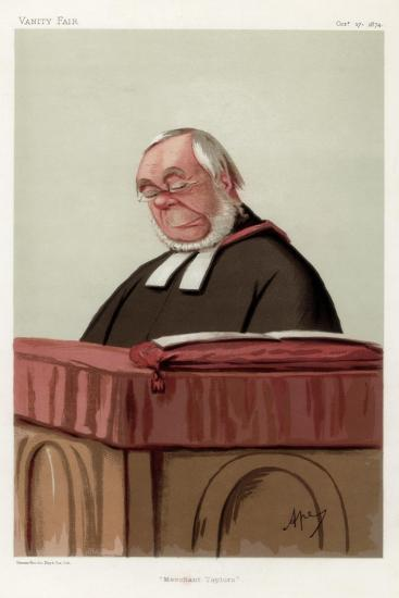 Merchant Taylors, the Reverend James Augustus Hessey Dcl, 1874-Carlo Pellegrini-Giclee Print
