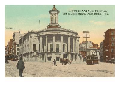 Merchants Old Stock Exchange, Philadelphia, Pennsylvania--Art Print