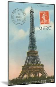 Merci, Eiffel Tower
