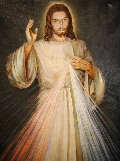 Merciful Christ, Paris, France, Europe-Godong-Photographic Print