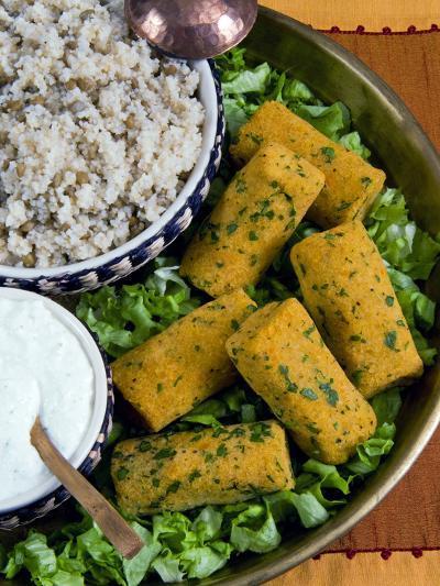 Mercimek Koftesi, Vegetarian Balls with Lentils, Turkish Food, Turkey, Eurasia-Nico Tondini-Photographic Print