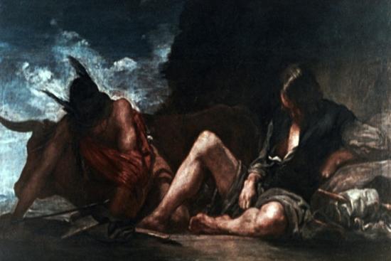 Mercury and Argus, C1659-Diego Velazquez-Giclee Print