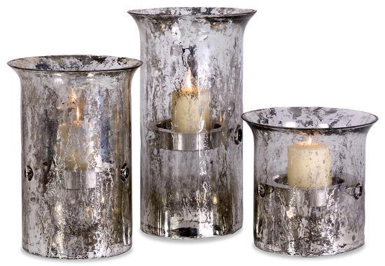 Mercury Candleholders - Set of 3--Home Accessories