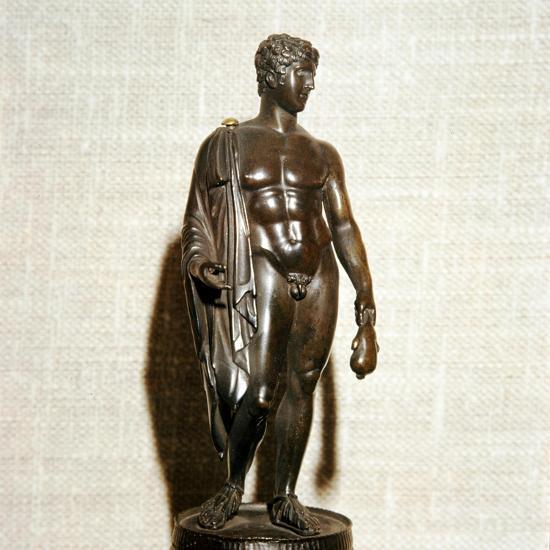Mercury (Hermes) holding a purse (as bringer of good fortune), Roman, 1st century-Unknown-Giclee Print
