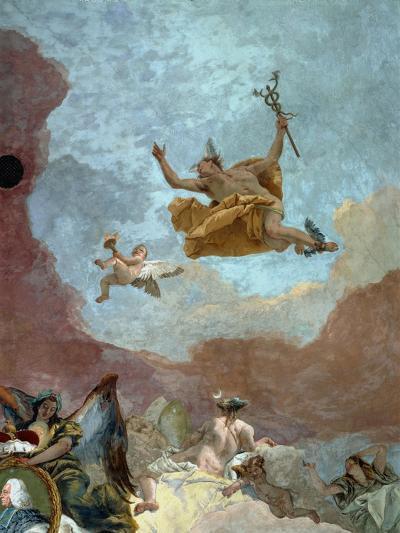 Mercury, Messenger of the Gods-Giovanni Battista Tiepolo-Giclee Print