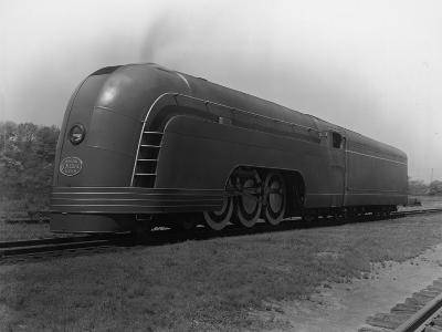 Mercury Railroad Car-A. E. French-Photographic Print