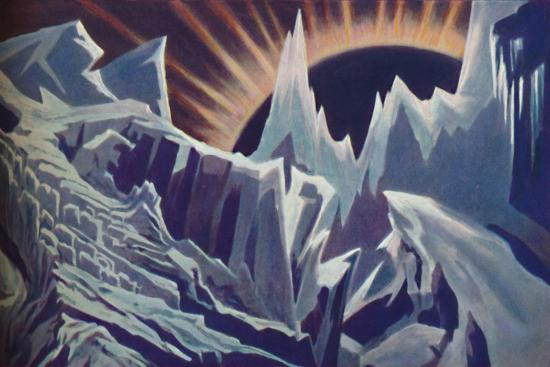 'Mercury's Eternal Night', c1935-Unknown-Giclee Print
