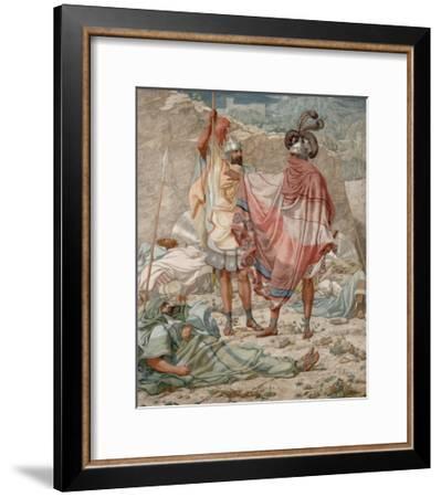 Mercy: David Spareth Saul's Life-Richard Dadd-Framed Art Print