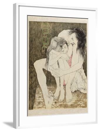 Mère Et Enfant-Jean Jansem-Framed Limited Edition