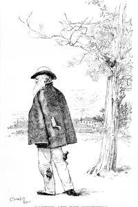 Darwin and the Squirrels, Illustration from 'Charles Darwin, His Life and Work' by Meredith Nugent