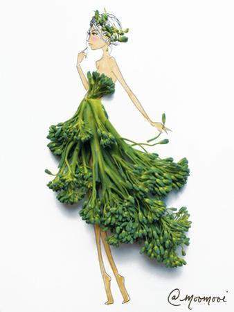 Broccoli Babe by Meredith Wing