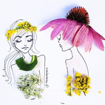 Flower Hats by Meredith Wing