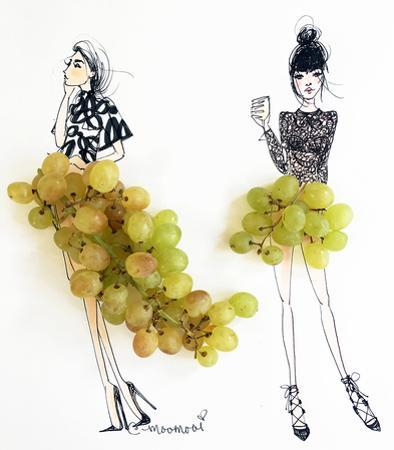 Grape Girls by Meredith Wing