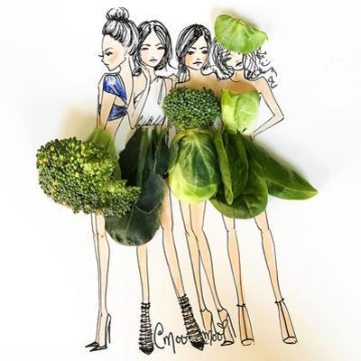 Veggie Girls by Meredith Wing
