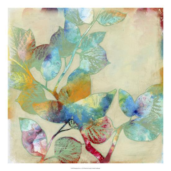 Merging Leaves I-Jennifer Goldberger-Premium Giclee Print