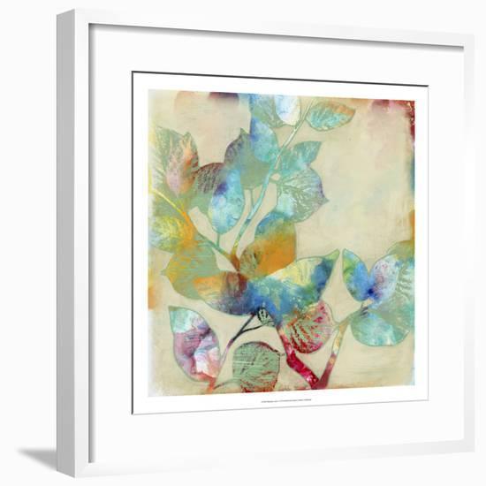 Merging Leaves I-Jennifer Goldberger-Framed Premium Giclee Print