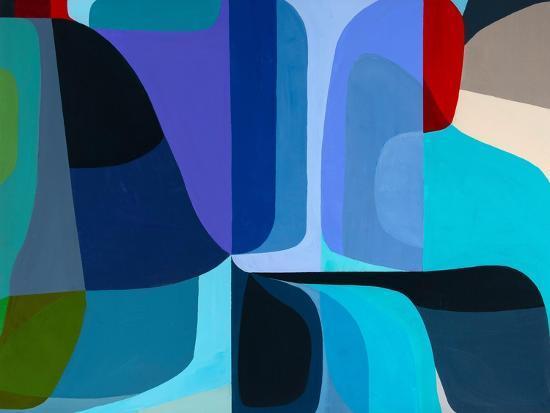 Merging Waters-Marion Griese-Art Print