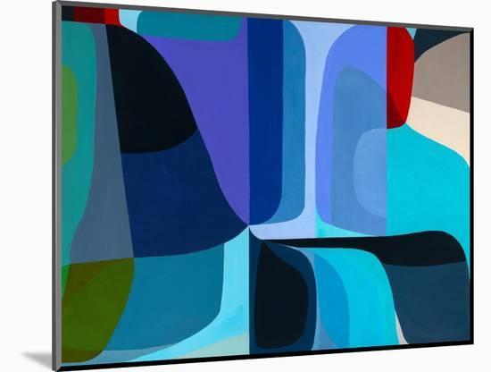 Merging Waters-Marion Griese-Mounted Art Print