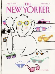 The New Yorker Cover - July 9, 1990 by Merle Nacht