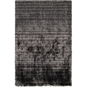 Merlot Area Rug - Black/Gray 5' x 8'