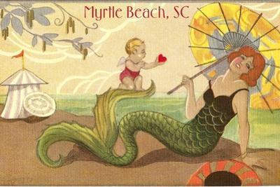 Mermaid at Myrtle Beach